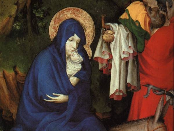 The Flight Into Egypt Detail
